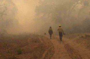 Lograron extinguir el fuego en Salta pero Jujuy, La Rioja y Córdoba mantienen focos activos