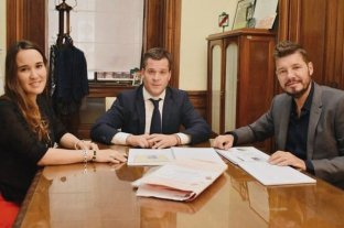 Con Tinelli en la Legislatura, comenzó el debate por la rezonificación del predio de San Lorenzo