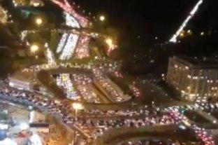 Viral: colapsó el tránsito en París previo a la llegada del nuevo confinamiento