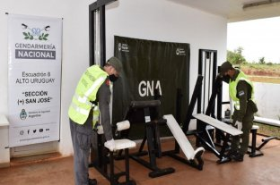 Misiones: ocultaban 20 kilos de marihuana dentro de aparatos de gimnasia