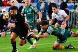 Contundente victoria de Nueva Zelanda en la primera fecha del Tres Naciones