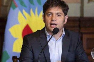 Kicillof evalúa suspender las PASO