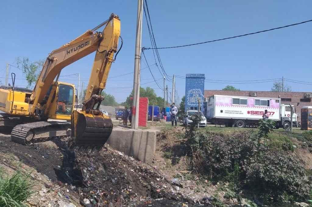 Las actividades llevadas a cabo en el barrio de Las Lomas en Santa Fe.    Crédito: Prensa Gobierno de la Provincia