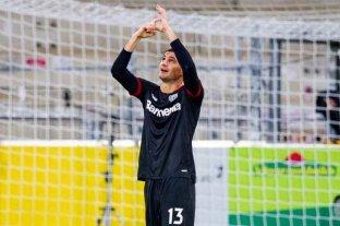 """Dos """"Pepas"""" de """"Pipa"""" para la victoria del Leverkusen"""