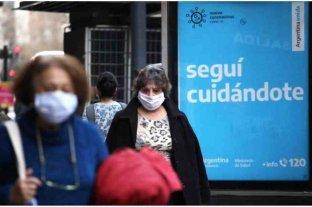 Buenos Aires suma 1.547 contagios de coronavirus y el total se eleva a 550.939