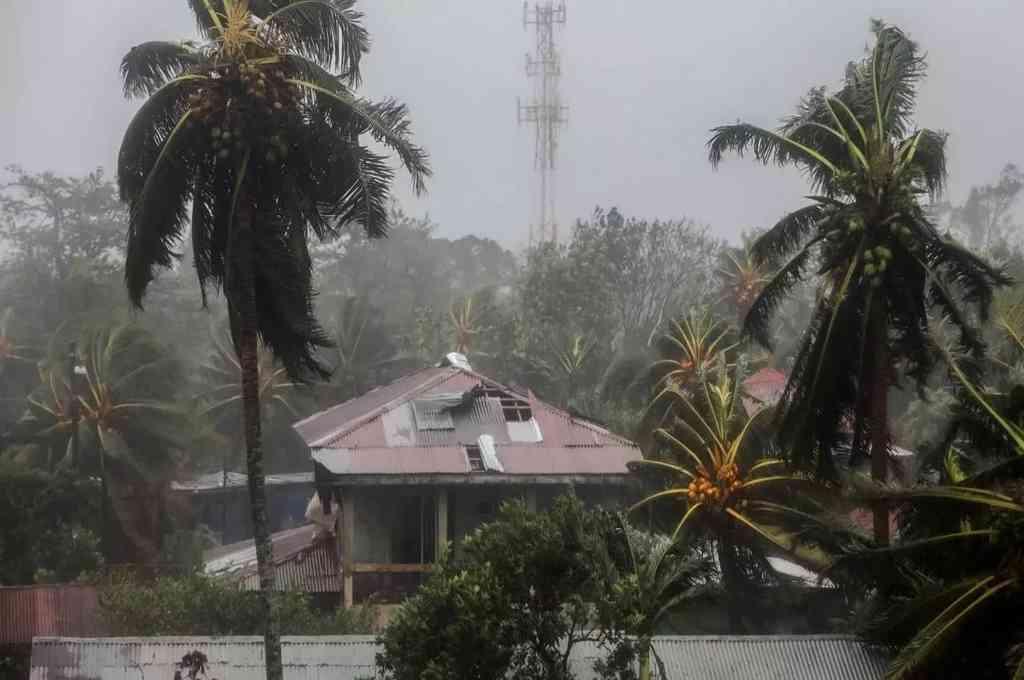 "El ""extremadamente peligroso"" huracán ETA azotó a Nicaragua, tras tocar tierra con categoría 4. Crédito: Gentileza"
