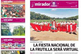 Mirador Provincial cumple 8 años