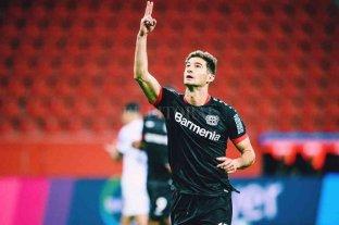 Lucas Alario quiere extender su racha goleadora en la Liga de Europa
