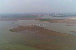 El nuevo pico de bajante expondrá  saltos de agua en la laguna Setúbal