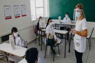 La ciudad de Buenos Aires retorna a las clases presenciales en todos los niveles educativos