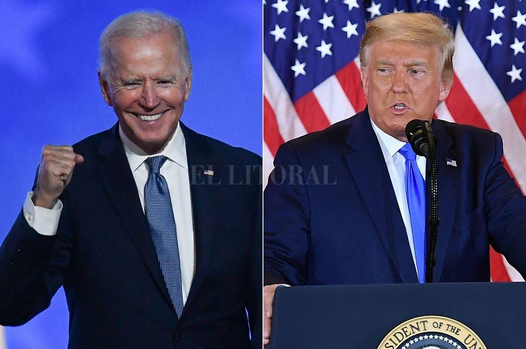 Joe Biden y Donald Trump Crédito: Agencia