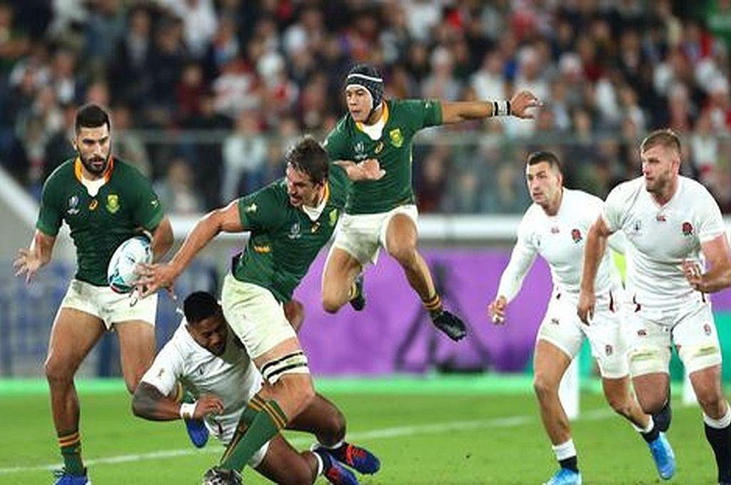 La Rugby World Cup Japón 2019 tuvo una importancia muy especial en materia de repercusión global, ya que fue la primera concretada en Asia, uno de los continentes que mayor evolución alcanzó en cuanto al interés por este deporte. La imagen corresponde a la final en la que Sudáfrica batió a Inglaterra. Crédito: Gentileza WR