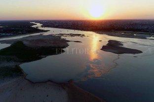 El Río Paraná volvió a bajar y quedó cerca del mínimo registrado este año