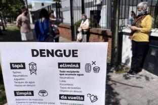 Dengue: los centros municipales de Distrito ponen foco en la prevención