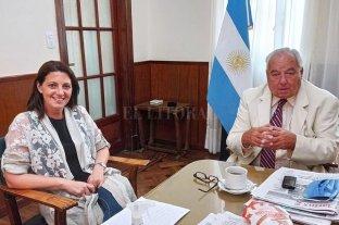 La diputada Florito se reunió con el Presidente de la Corte Suprema, Rafael Gutiérrez