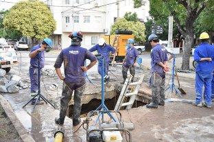 Hubo problemas con el agua en un amplio sector de la ciudad