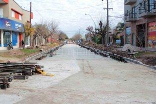 Buscan reactivar obras de pavimento en Santo Tomé