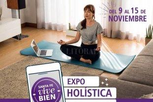 """""""Santa Fe vive bien Expo Holística"""", este año online"""