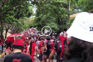 La televisión paraguaya recordó el éxodo sabalero