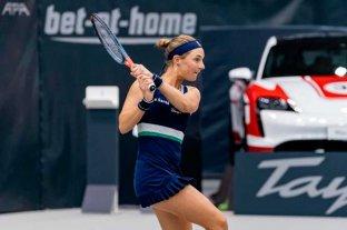 Podoroska se metió en los cuartos de final del torneo de Linz