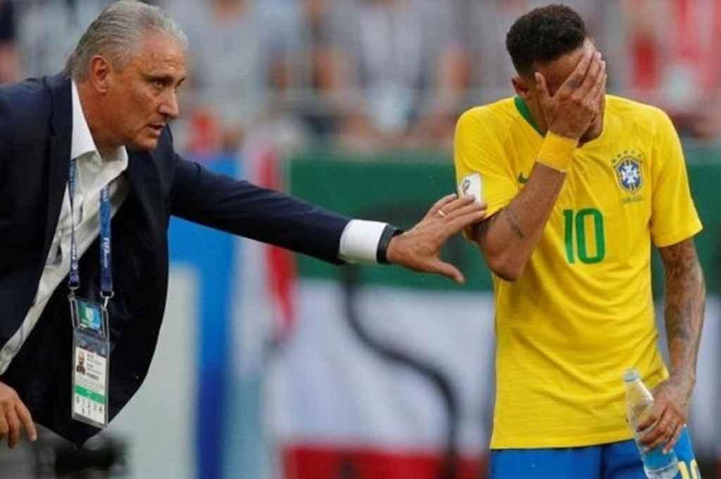 Sin Neymar. Brasil recibirá a una golpeada Venezuela para continuar en la cima de las Eliminatorias. Tite, el DT brasileño, no podrá contar con su figura.     Crédito: Archivo