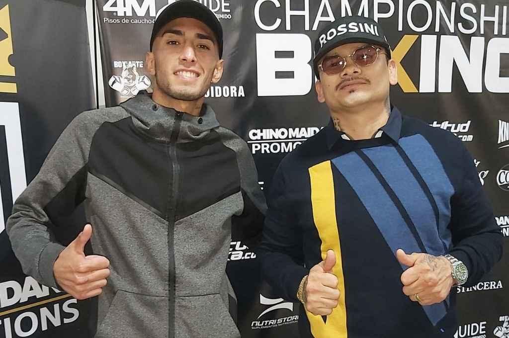 Boxeador y promotor. El invicto Jeremías Ponce estelariza la cartelera presentada por Chino Maidana Promotions    Crédito: Gentileza