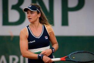 Nadia Podoroska fue eliminada del torneo de Linz pero subirá un puesto en el ranking