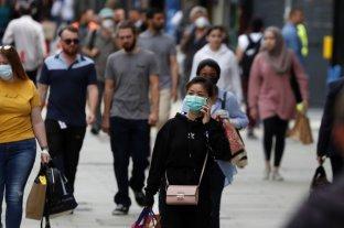 La ola de coronavirus se desacelera en el Reino Unido