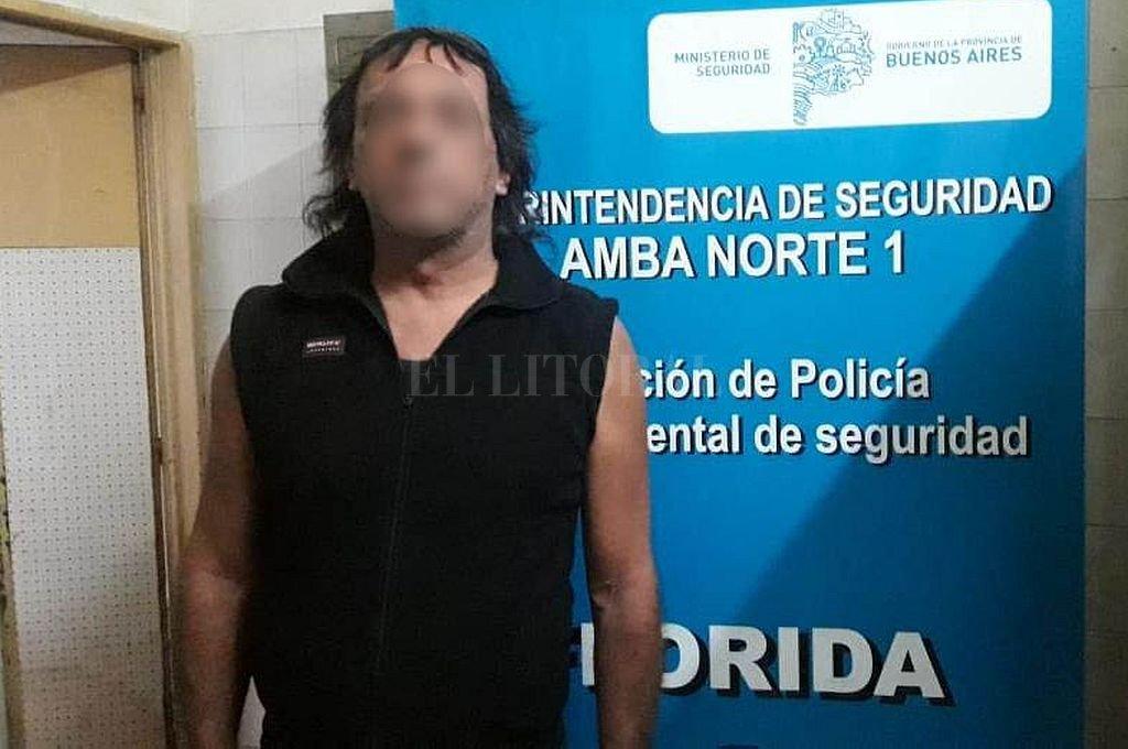José Luis Zanocco fue detenido acusado de violar la restricción perimetral y golpear nuevamente a la víctima y a su hijo. Crédito: Telam