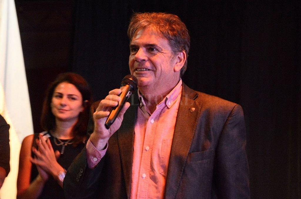 Jorge Llonch, ministro de Cultura de la provincia. Crédito: Archivo El Litoral / Mauricio Garín