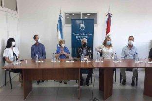 San Javier: Baucero y directivos del hospital presentaron nuevos profesionales y especialistas