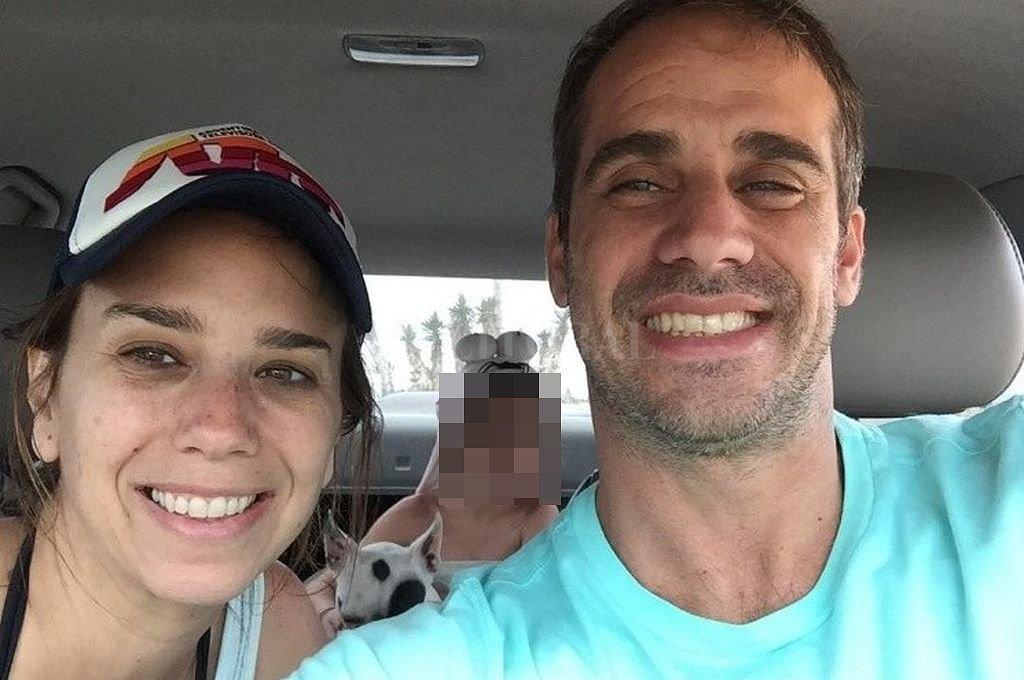 Cecilia Ruffa y Emiliano Fernandes Delgado. Crédito: Captura digital