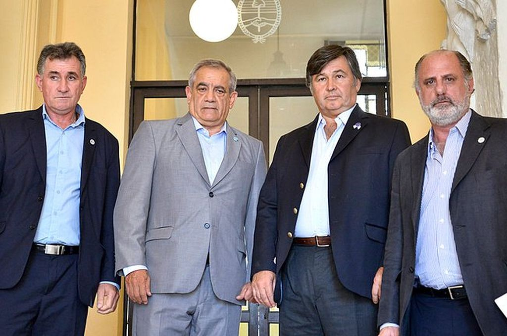 Integrantes de la Mesa de Enlace. Crédito: Captura digital - Infobae