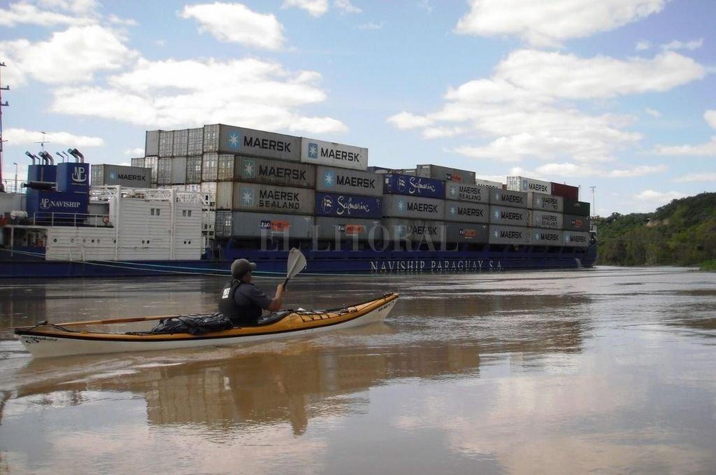 Una serie de potenciales problemas deberán ser correctamente abordados y profundizados en el contexto de las nuevas obras que se prevén para la nueva Hidrovía Paraguay-Paraná. Crédito: Gentileza César Machado