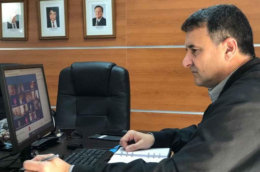 González pidió al gobierno que pose su mirada sobre el región norte de la provincia.    Crédito: El Litoral