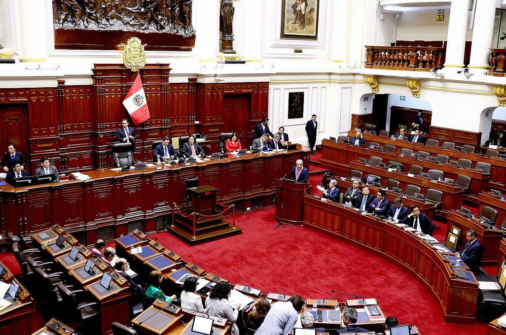 Congreso de Perú Crédito: Archivo