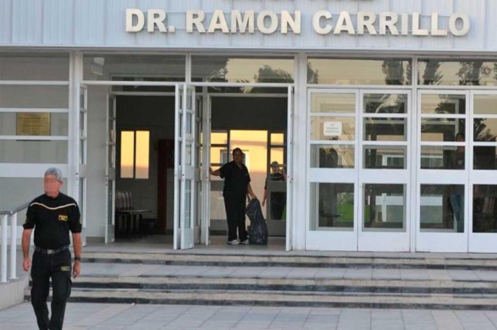 La víctima fue trasladada al Hospital Carrillo por una comisión policial que llegó al lugar, aunque poco después murió a raíz de la gravedad de la herida. Crédito: Gentileza