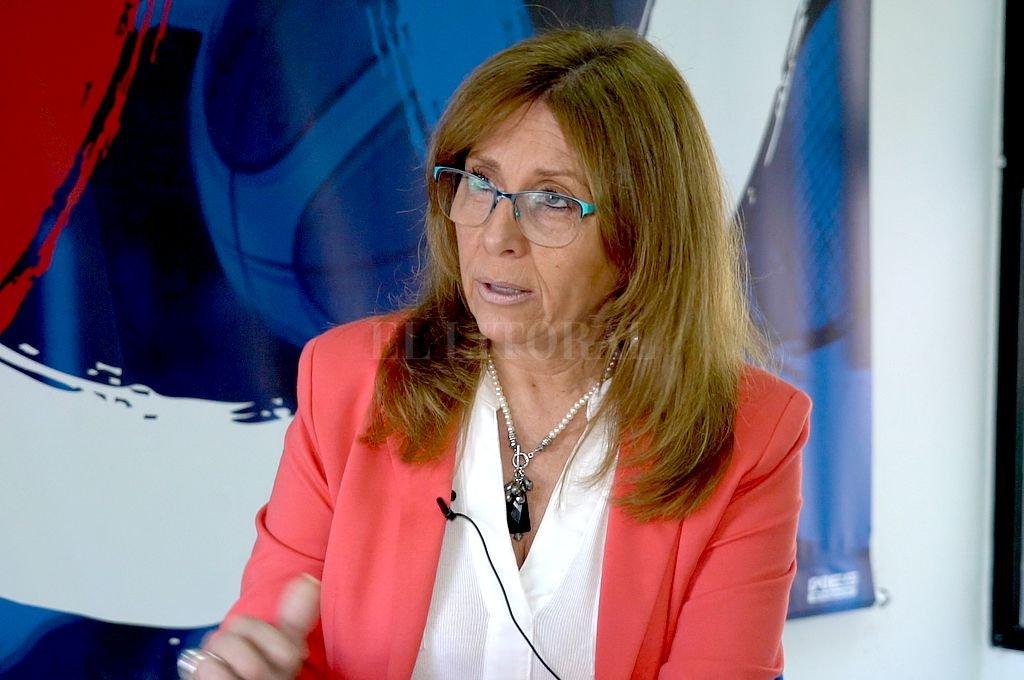 Claudia Giaccone. Crédito: Archivo El Litoral