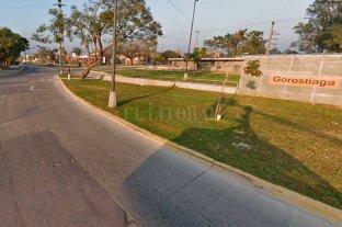 Motociclista lesionado tras siniestro vial en Av. Blas Parera