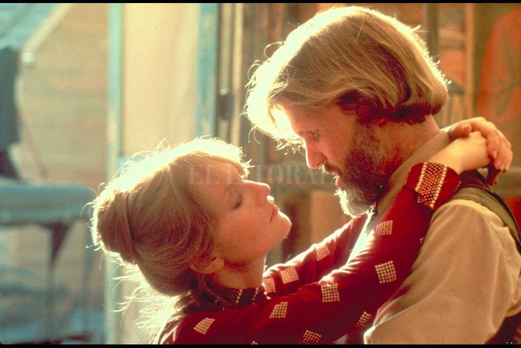 """Kris Kristofferson, cantante, compositor y actor, es el protagonista del western """"La puerta del cielo"""". Christopher Walken Isabelle Huppert y John Hurt también integran el lujoso elenco. Crédito: United Artist"""