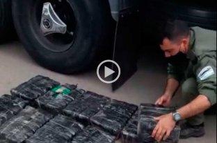 Secuestraron 50 kilos de hoja de coca en Rafaela