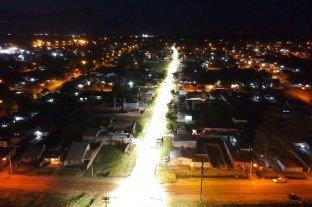 Venado Tuerto exhibe un nuevo sistema de luces led