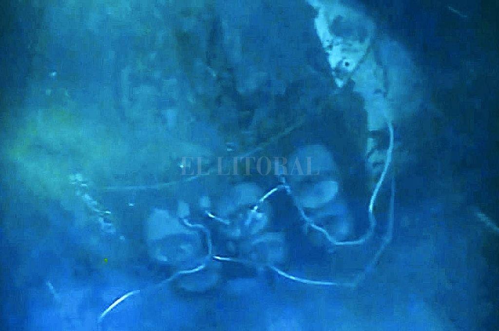 Sección del submarino ARA San Juan Crédito: Archivo El Litoral