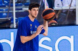 Tras ser elegido en la NBA, el cordobés Bolmaro seguirá en Barcelona