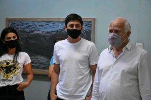 Lifschitz y Garibaldi visitaron el proyecto del aula virtual comunitaria para el barrio Las Lomas