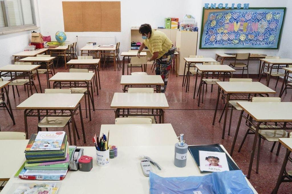 Volver a las aula debe ser volver a una escuela mejor, que no repita la desigualdad sino que trabaje para mitigarla. Crédito: Archivo El Litoral