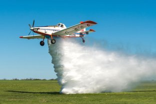 La aviación agrícola se suma como bomberos rurales