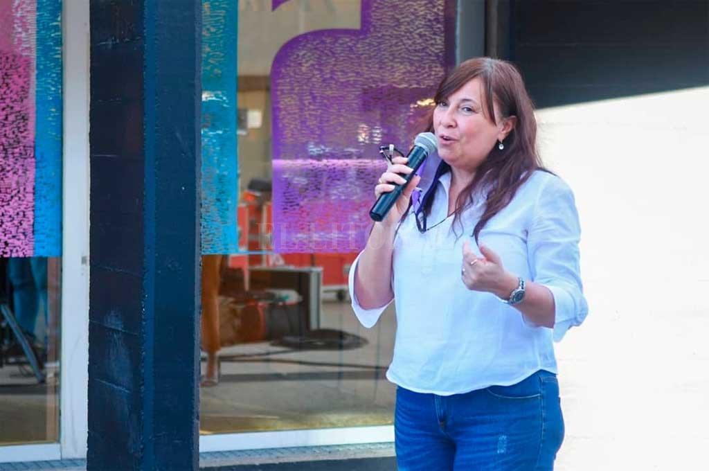 Celia Arena, Secretaria de Estado de Igualdad y Género Crédito: Gentileza