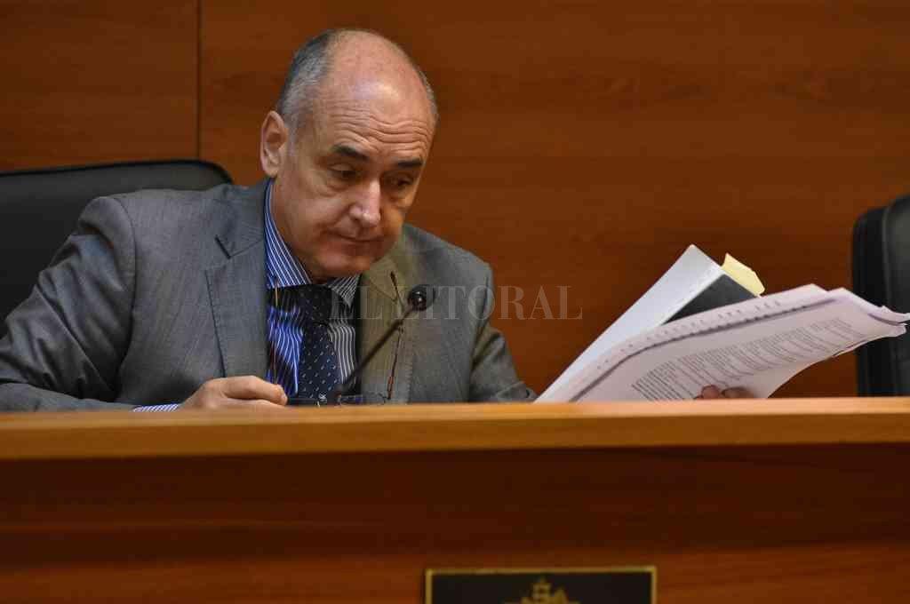 El juez Pablo Busaniche (foto) ordenó la medida solicitada por la dupla de fiscales Arturo Haidar y Sebastián Szeifert. Crédito: Guillermo Di Salvatore