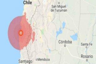 Chile fue el epicentro de un fuerte terremoto que se sintió en Mendoza